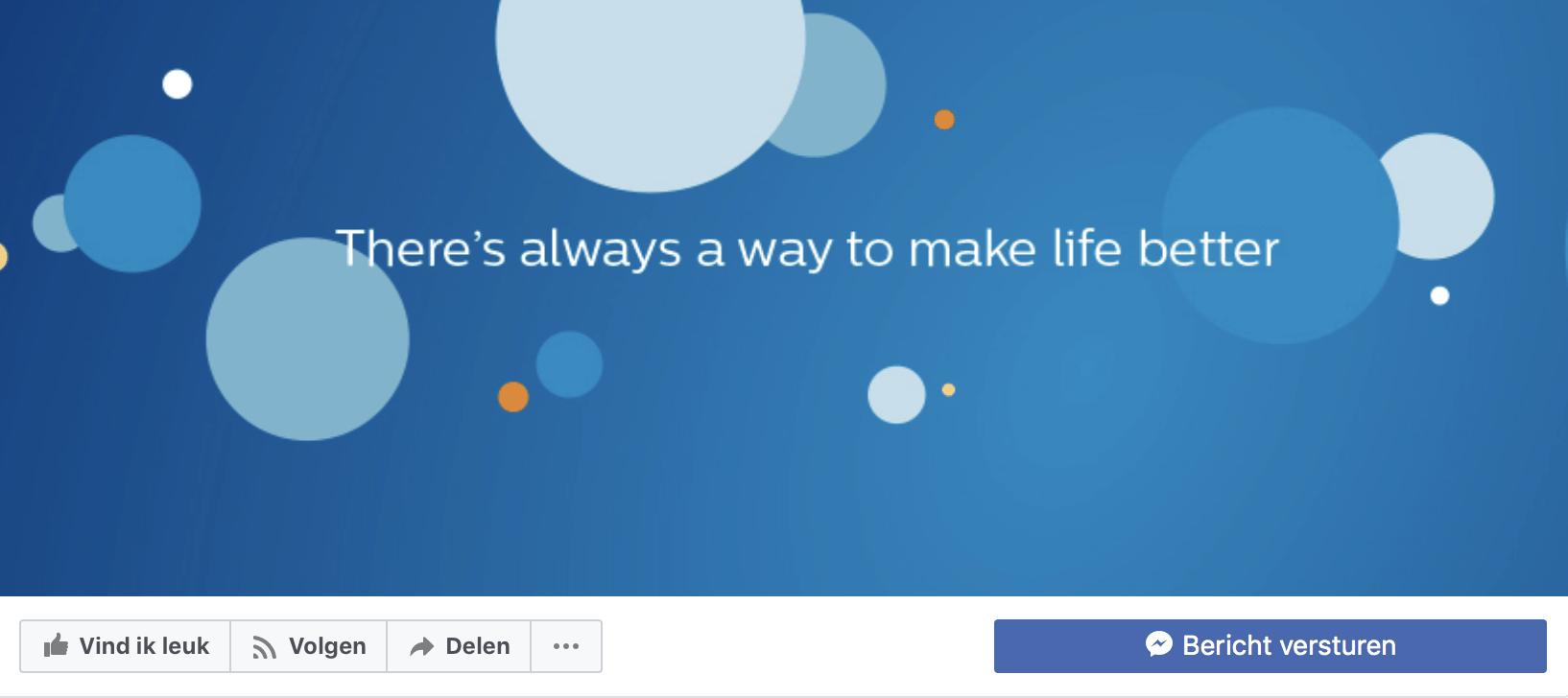 13 ideeën omslagfoto Facebook