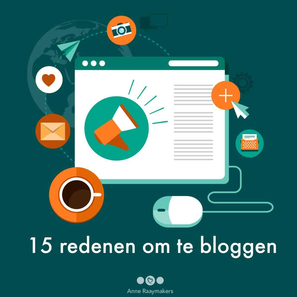 15 redenen om te bloggen