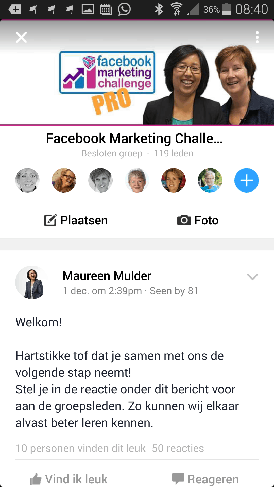 Facebook Marketing Challenge