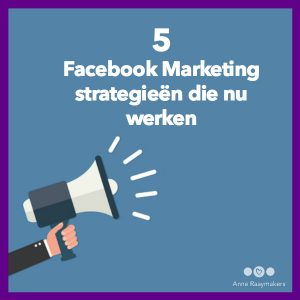 Facebook Marketing strategie