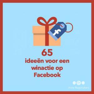 65 ideeën winactie Facebook