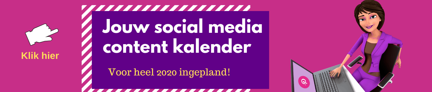 Social Media Kalender Anne Raaymakers