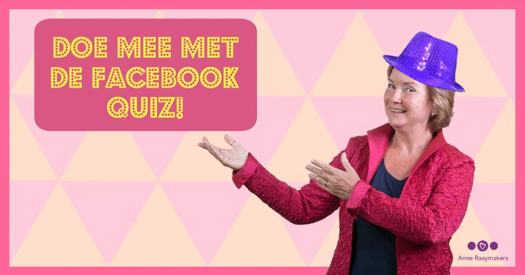 Start Facebook quiz