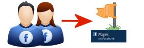 Facebook zet ongevraagd profiel om naar pagina