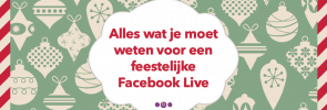 feestelijke Facebook Live