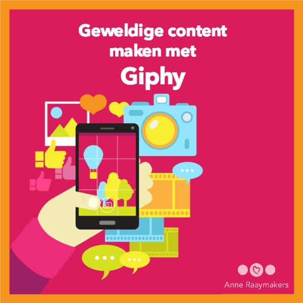 Geweldige content maken met Giphy