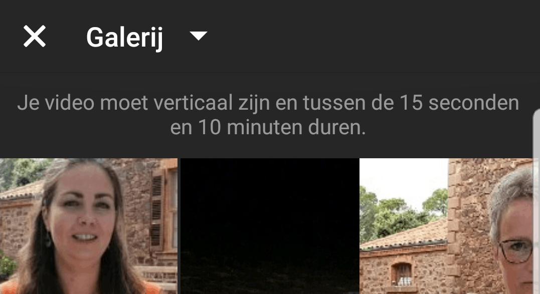 IGTV video uploaden