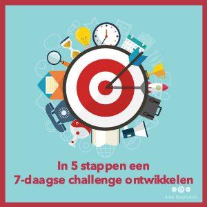 In 5 stappen een 7-daagse challenge ontwikkelen - 600