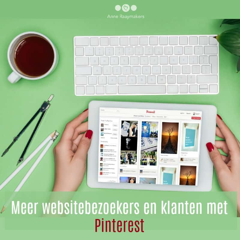 Meer websitebezoekers en klanten met Pinterest