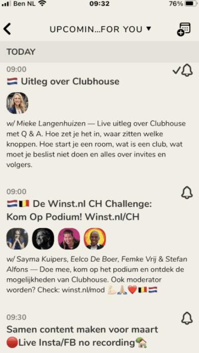De 11 meest gestelde vragen over Clubhouse