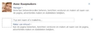Facebook beheerder