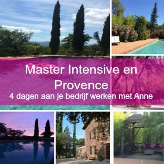 Master intensive en Provence